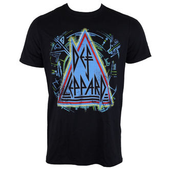 t-shirt metal uomo Def Leppard - HYSTERIA - LIVE NATION, LIVE NATION, Def Leppard