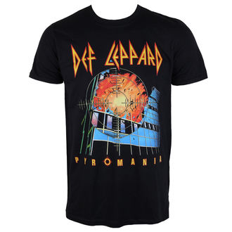 t-shirt metal uomo Def Leppard - Pyromania - PLASTIC HEAD, PLASTIC HEAD, Def Leppard