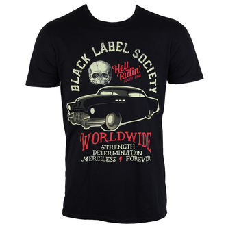 t-shirt metal uomo Black Label Society - Riding Hot Rod - PLASTIC HEAD, PLASTIC HEAD, Black Label Society