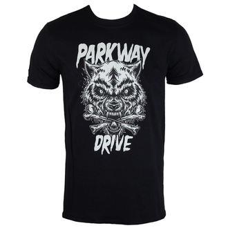 t-shirt metal uomo Parkway Drive - Wolf & Bones - PLASTIC HEAD - PH9861