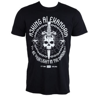 t-shirt metal uomo Asking Alexandria - Light In The Darkness - PLASTIC HEAD, PLASTIC HEAD, Asking Alexandria