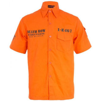 camicia uomo VOODOO VIXEN - Orange, JAWBREAKER