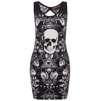 vestito donna JAWBREAKER - Blk/Wht Skull, JAWBREAKER