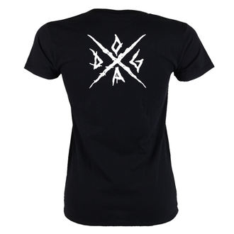 t-shirt metal donna Doga - Black -, Doga