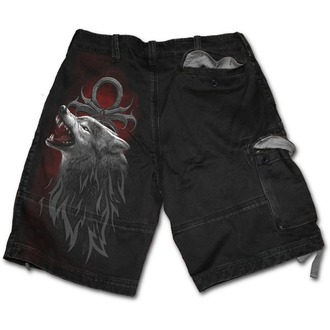pantaloncini SPIRAL - Legend of the Wolves - Nero, SPIRAL