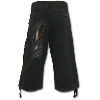 pantaloncini uomo SPIRAL - Bone Rips - Nero, SPIRAL