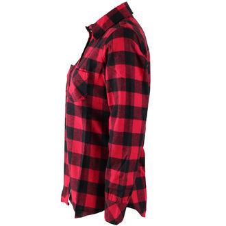 camicia donna ROTHCO - PLAID - ROSSO, ROTHCO