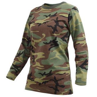 t-shirt donna - WOODLAND CAMO - ROTHCO, ROTHCO