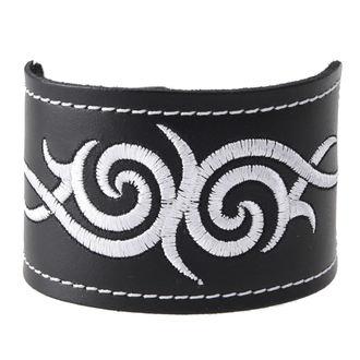 bracciale Tribal - White, BLACK & METAL