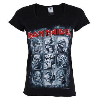 t-shirt metal donna Iron Maiden - EDDIES - AMPLIFIED, AMPLIFIED, Iron Maiden