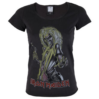 t-shirt metal donna Iron Maiden - KILLER - AMPLIFIED, AMPLIFIED, Iron Maiden