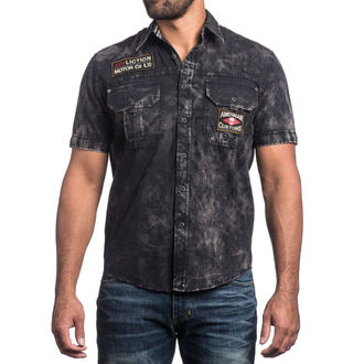 camicia da uomo a marchio AFFLICTION - No Rival - BK, AFFLICTION