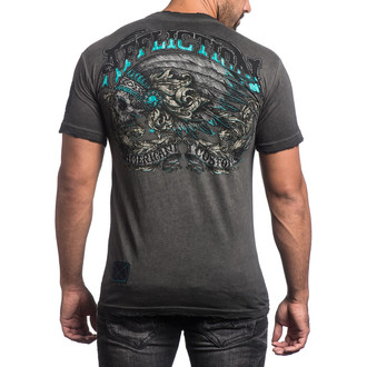 t-shirt hardcore uomo - Apache Freedom - AFFLICTION, AFFLICTION