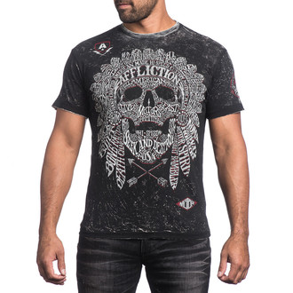 t-shirt hardcore uomo - Native Tongue - AFFLICTION, AFFLICTION
