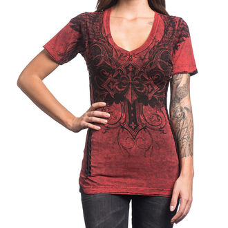 t-shirt hardcore donna - Debonair - AFFLICTION, AFFLICTION