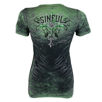 t-shirt hardcore donna - Sinful Undying - AFFLICTION, AFFLICTION