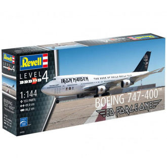 modellino Iron Maiden - Model Kit 1/144 Boeing 747-400, Iron Maiden
