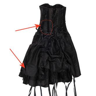 vestito donne burlesque - Black - DANNEGGIATO