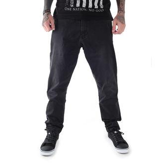 pantaloni uomo GLOBE - Select Loose Taper - Annata Nero, GLOBE