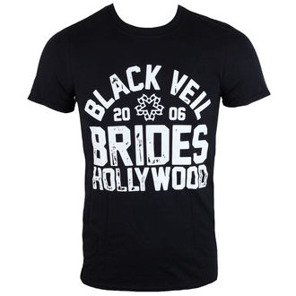 t-shirt metal uomo Black Veil Brides - Hollywood - LIVE NATION, LIVE NATION, Black Veil Brides