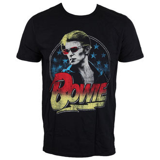 t-shirt metal uomo David Bowie - Smoking - LIVE NATION, LIVE NATION, David Bowie