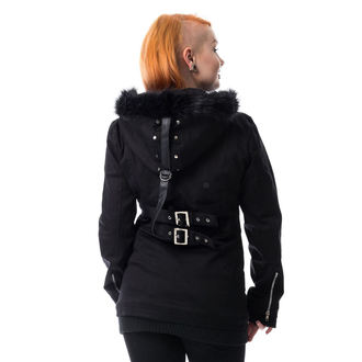 cappotto da donna HEARTLESS - SARA - NERO, HEARTLESS