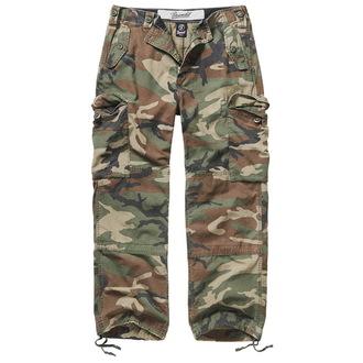 pantaloni uomo BRANDIT - Hudson Ripstop - 1013-woodland