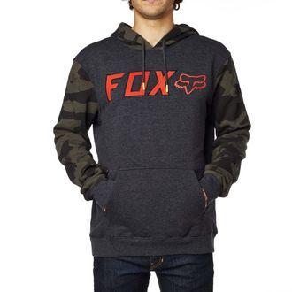 felpa con capuccio uomo - Diskors Fleece - FOX, FOX