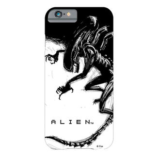 cover telefono copertina Alien - iPhone 6 Plus Xenomorph Black & White Comic, NNM, Alien - Vetřelec