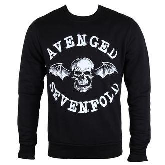 felpa senza cappuccio uomo Avenged Sevenfold - Classic Deathbat - ROCK OFF, ROCK OFF, Avenged Sevenfold