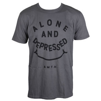 t-shirt metal uomo Bring Me The Horizon - Alone And Depressed - ROCK OFF, ROCK OFF, Bring Me The Horizon