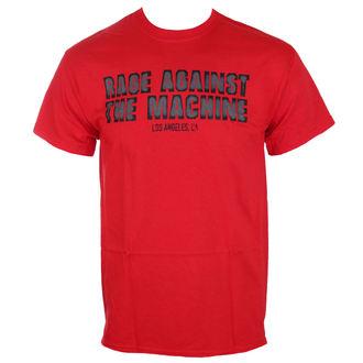 t-shirt metal uomo Rage against the machine - Smashed Red -, Rage against the machine