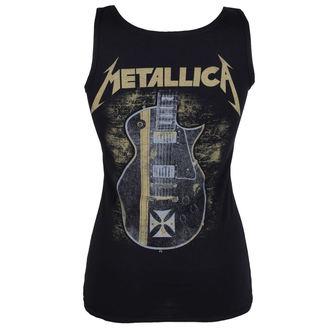 top  donna metallica - Hetfield Iron Cross Guitar - Nero - ATMOSPHERE, Metallica