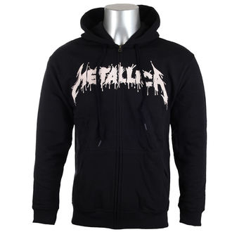 felpa con capuccio uomo Metallica - One Black -, Metallica