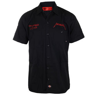 Camicia da uomo Metallica - Pushead Damaged Justice - Nero, Metallica
