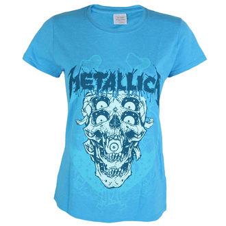 t-shirt metal donna Metallica - Double Skull -, Metallica