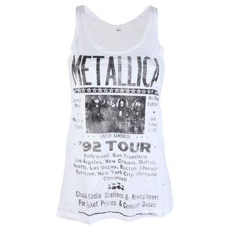 Top donna Metallica - 92 Poster White - ATMOSPHERE, Metallica