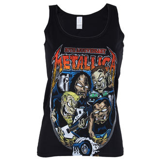 Top donna METALLICA - Fillmore Caricature - Nero - ATMOSPHERE, Metallica