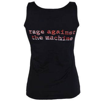 top  donna Rage Against The Machine - Molotov Flag - Nero - ATMOSPHERE, NNM, Rage against the machine