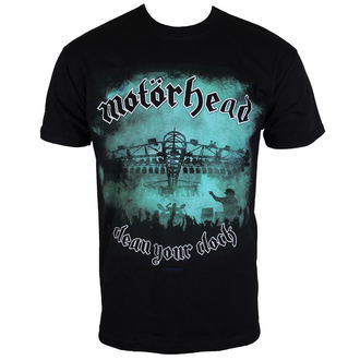 t-shirt metal uomo Motörhead - Clean your Clock Green - ROCK OFF, ROCK OFF, Motörhead