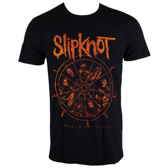 t-shirt metal uomo Slipknot - The Wheel - ROCK OFF, ROCK OFF, Slipknot