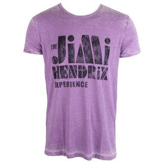t-shirt metal uomo Jimi Hendrix - Stencil Logo Vintage - ROCK OFF, ROCK OFF, Jimi Hendrix