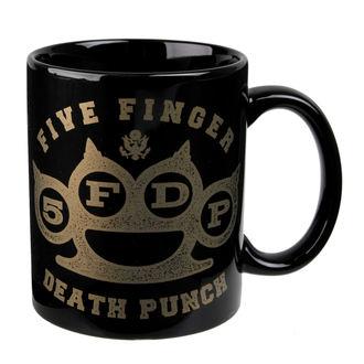 tazza Five Finger Death Punch - Brass - ROCK OFF, ROCK OFF, Five Finger Death Punch