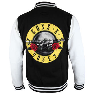 felpa senza cappuccio uomo Guns N' Roses - Circle Logo - ROCK OFF, ROCK OFF, Guns N' Roses