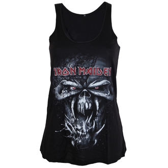 top donna Iron Maiden - FF Eddie Distressed - ROCK OFF, ROCK OFF, Iron Maiden