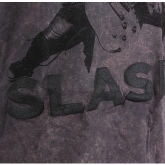 t-shirt metal uomo Guns N' Roses - Snowblind Acid Wash Puff Print - ROCK OFF, ROCK OFF, Guns N' Roses