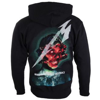 felpa con capuccio uomo Metallica - Hardwired Album Cover -, Metallica