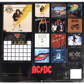 calendario per 2017 - AC/DC, AC-DC