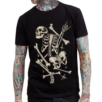 t-shirt hardcore uomo - Deadly Bones - HYRAW, HYRAW