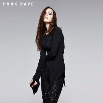 t-shirt da donna con maniche lunghe PUNK RAVE - Hypnosis, PUNK RAVE